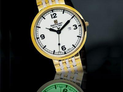 Steinhausen Dunn Horitzon Lumin Rasierer Watch (G) # TW 498 G