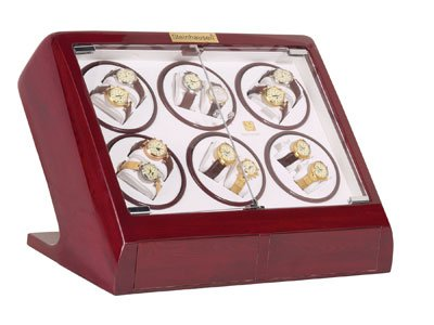 Steinhausen Watch Winder (Cherry 12+2) # TM 548 E12
