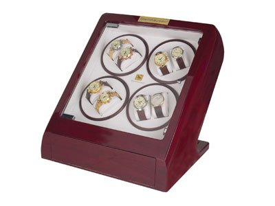 Steinhausen Watch Winder (Cherry 8+2) # TM 548 E8
