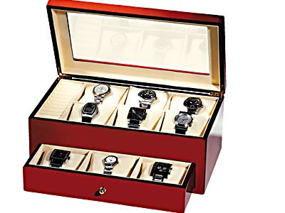 Cherrywood Watch Storage Case (Small) # TM308 E