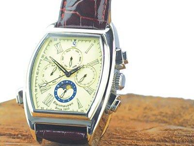 Steinhausen Ulrich Automatic Calendar Watch Silver # TW 393 S