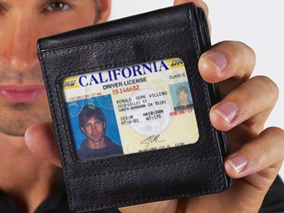 Steinhausen Show-Me ID Wallet (Black) # TN 213 L