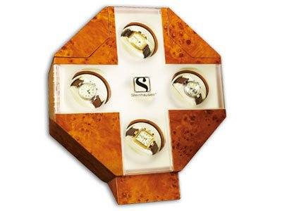 Steinhausen Tropez Watch Winder (Burlwoood) # TM 485 A