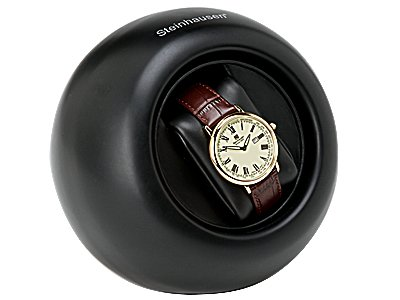 Steinhausen Desktop Watch Winder (Black) # TM 588 L