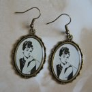 Audrey Hepburn &quot;Breakfast At Tiffany&#39;s&quot; Bronze Earrings