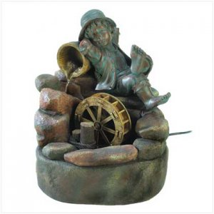 Lazy Days Garden Fountain -- FREE SHIPPING