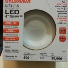 "Sylvania 70643 LED/RT4/600/830/FL80 4"" Retrofit Recessed LED Light Kit"