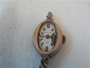 VINTAGE BULOVA 23 LADIES COCKTAIL WATCH 4U2FIX