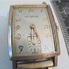 VINTAGE WITTNAUER REVUE GF SQUARE WATCH 4U2FIX