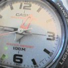 UNUSUAL DUAL LCD ANALOG CASIO WATCH RUNS