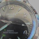 UNUSUAL MONDU JAPAN QUARTZ BIG MANS WATCH RUNS