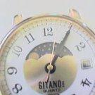 vRARE GITANO MOONPHASE DAY DATE WATCH 4U2FIX