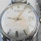 VINTAGE 17 JEWEL BARON DATE WATCH 4U2FIX