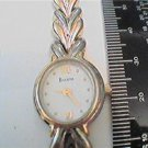 UNIQUE T6 DATE BULOVA LADIES QUARTZ WATCH RUNS 4U2FIX