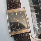 BLACK DIAL LADIES SQUARE SEIKO QUARTZ WATCH RUNS 4U2FIX