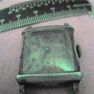 VINTAGE SQUARE IMPERIAL WATCH 4U2FIX STEM GLASS  & CASE