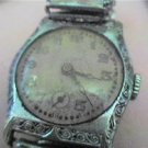 ART DECO LADIES WATCH RUNS 4U2FIX NEEDS MAINSPRING