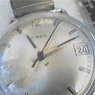 VINTAGE 1979 TIMEX DATE WINDUP WATCH 4U2FIX