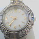 UNUSUAL STONED BEZEL VALLETTA LADIES JAPAN QUARTZ WATCH