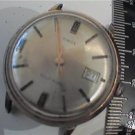 vintage timex date automatic wind watch runs and stops