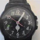 unusual dual 12-24hr dial lady timex quartz watch runs