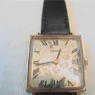 LADIES ROMAN # SQUARE SEIKO WINDUP WATCH RUNS