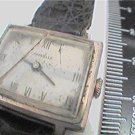 VINTAGE 1967 SQUARE CARAVELLE WINDUP WATCH 4U2FIX