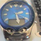 UNUSUAL GUESS DUAL LCD ANALOG WATCH 4U2FIX