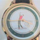 GOLFERS SECOND HAND QUARTZ WATCH RUNS