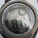 UNUSUAL 1440 TIMEX LCD CHRONOGRAPH SPORTS WATCH RUNS