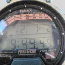 UNIQUE TIMEX REEFGEAR CHRONO TEMP LCD WATCH RUNS