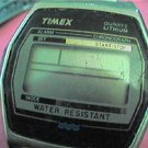 old timex lithium alarm chrono lcd watch