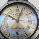 UNIQUE BACK SET QUEMEX L.A. POWER QUARTZ WATCH RUNS