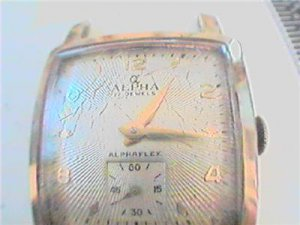 UNUSUAL SQUARE ALPHA FLEX WATCH 4U2FIX