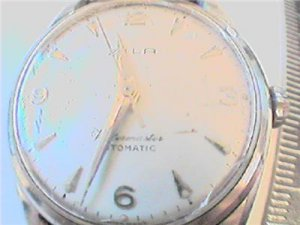 vintage zila watermaster automatic all steel watch RUNS