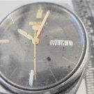 6309 SEIKO 5 DAY DATE AUTOMATIC WATCH RUNS NEEDS GLASS