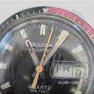 UNIQUE 1977 DDAY BULOVA ACCUTRON 666FT QUARTZ WATCH RUNS 4U2FIX