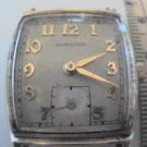 RARE VINTAGE HAMILTON FORBES SQUARE WATCH RUNS! L@@K
