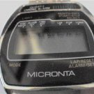 UNUSUAL VINTAGE MICRONTA LCD ALARM CHRONOGRAPH WATCH