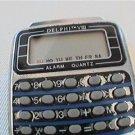 DELPHI VIII ALARM QUARTZ CALCULATOR WATCH 4U2FIX