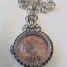 GRUEN TOURELLE LADY STONED PIN WATCH RUNS 4U2FIX HAND