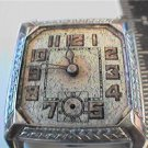ART DECO WARKWICK ROLLED GOLD PLATE SQUARE WATCH 4U2FIX