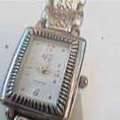 UNUSUAL BAND SQUARE LAX LADIES JAPAN QUARTZ WATCH RUNS