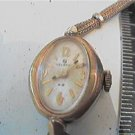 VINTAGE HELBROS LADIES COCKTAIL WINDUP WATCH RUNS 4FIX