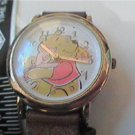 CUTE BUTTERFLY SECOND HAND WINNIE THE POOH QUARTZ WATCH