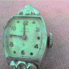 WHITE GOLD FILLED LADIES ELGIN COCKTAIL WATCH 4FIX