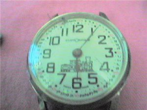 UNUSUAL CUSTOMTIME RAILROAD WATCH 4U2FIX