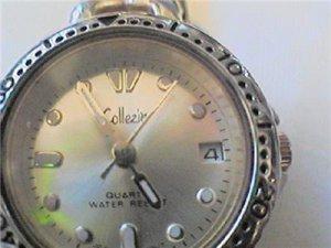 good collezio quartz date ladies watch runs