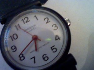 OLD RED HAND ARMITRON LADIES QUARTZ WATCH 4U2FIX BAND