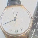 unusual roman dial swatch watch runs needs band FIX